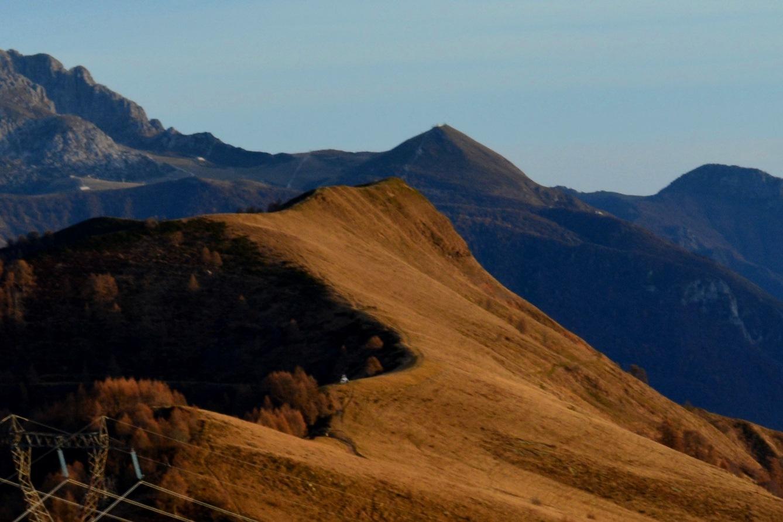 ESC - Tramonto dalla Cima di Olino ( Lombardia ) @ Alpe Paglio