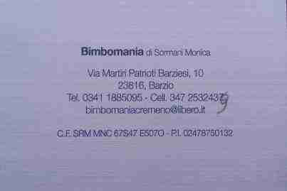 Bimbomania di Sormani Monica